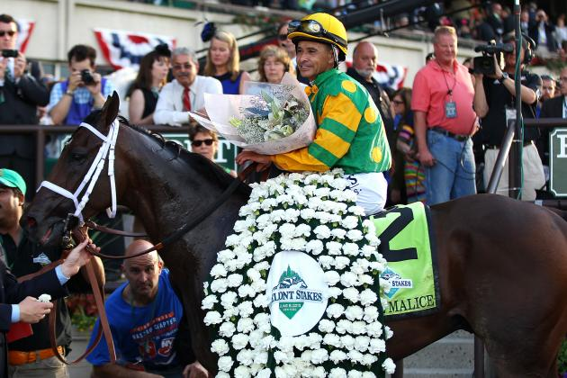 2013 Belmont Stakes Winner Palace Malice Wins Met Mile