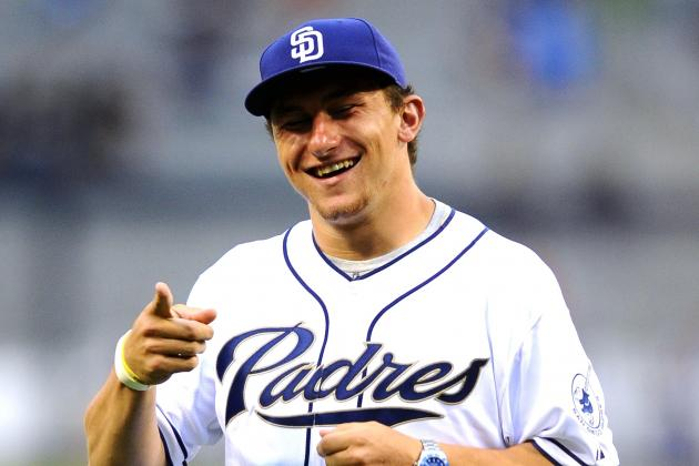 Johnny Manziel Drafted by Padres in 28th Round of 2014 MLB Draft