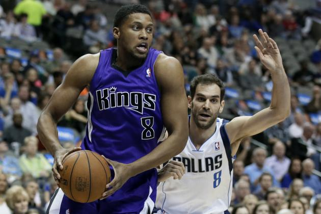 Sacramento Kings Using Tech and Hall of Famers to Woo Rudy Gay