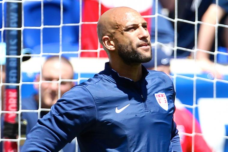 Tim Howard Reaches 100th International Cap for USMNT