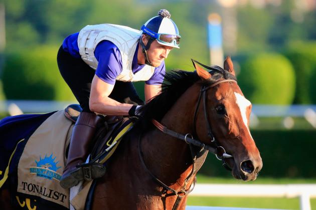 Tonalist Wins Belmont After Skipping 2 Crown Races