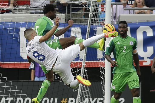 United States vs. Nigeria: Live Player Ratings for the USMNT