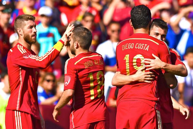 Vicente del Bosque Shows Off Spain's Tactical Versatility Against El Salvador