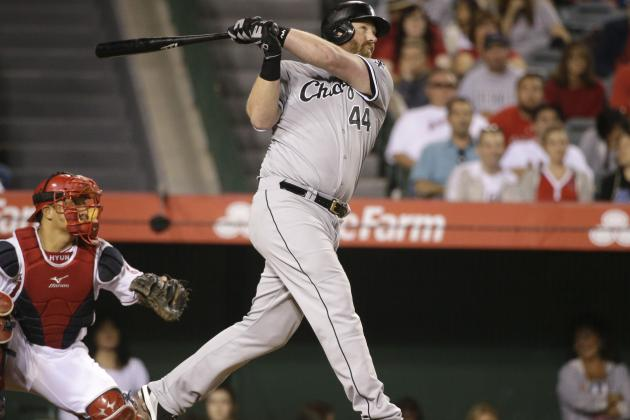 White Sox's Adam Dunn Hits 450th Home Run of Career