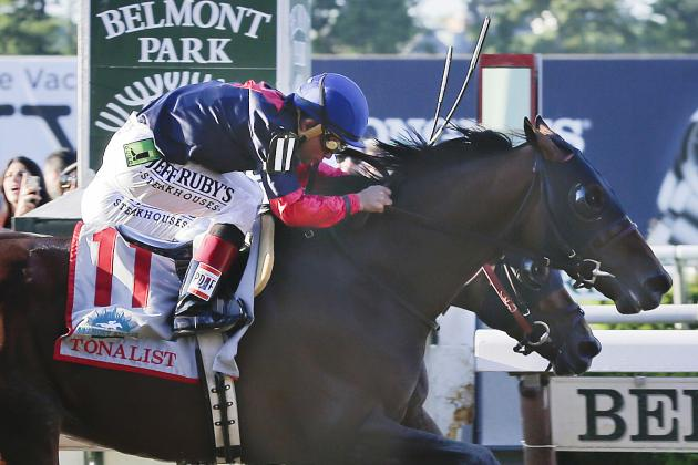 Belmont Stakes 2014: What Video Replay Shows About Tonalist's Victory