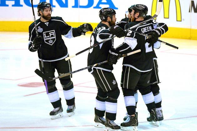 New York Rangers vs. Los Angeles Kings Game 2: Live Score and Highlights