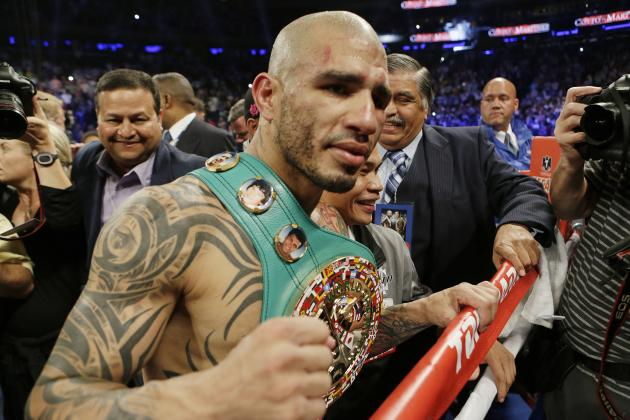 Mayweather-Cotto Imminent as Martinez Is Broken Down to the Very Last Compound