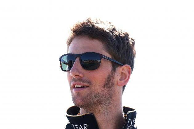 Grosjean Optimistic over Lotus Improvements