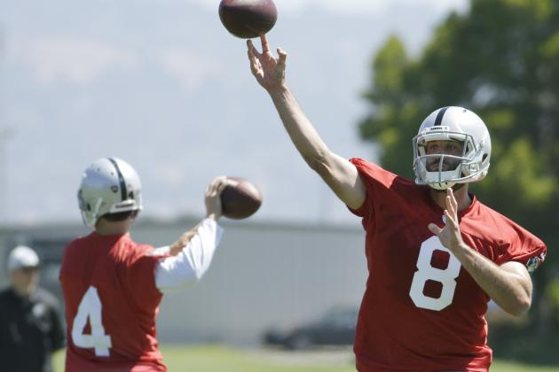 Derek Carr vs. Matt Schaub: Latest Updates on Oakland Raiders' QB Battle
