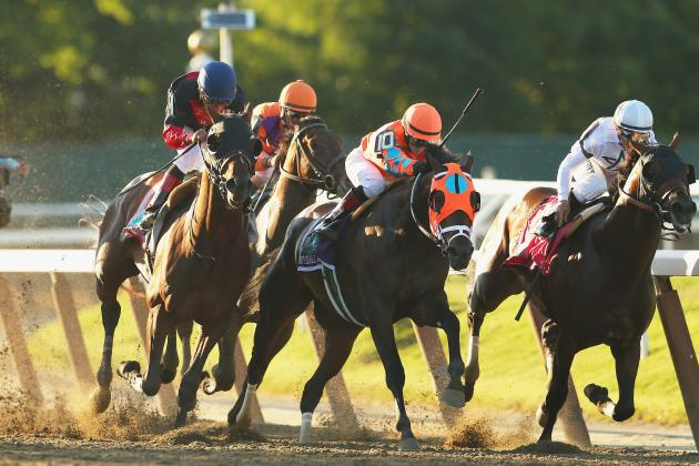 Belmont Stakes 2014: Key Moments from California Chrome's Triple Crown Pursuit