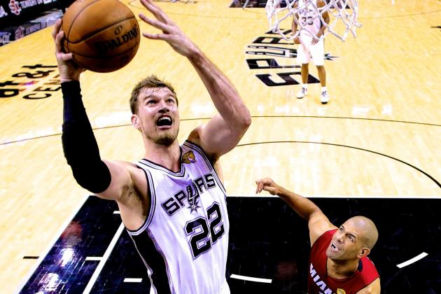 San Antonio Spurs Need New and Improved Tiago Splitter to Continue Strong Play