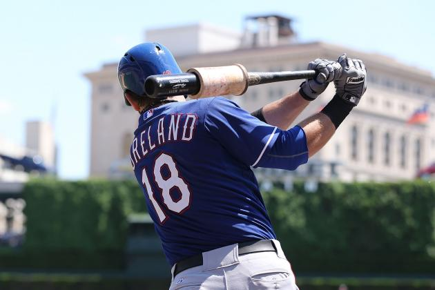 Texas Rangers Lose Mitch Moreland to Ankle Surgery