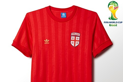Adidas Releases Awesome Retro World Cup Shirts