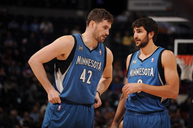 Ricky Rubio Will Try to Convince Kevin Love to Stay with Minnesota Timberwolves
