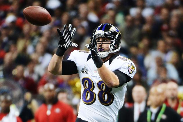 Healthy Dennis Pitta Shooting for Big Year