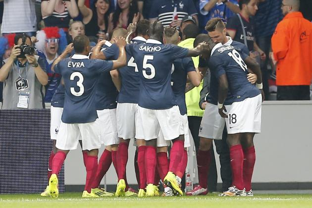 France vs. Jamaica: Live Player Ratings for Les Bleus