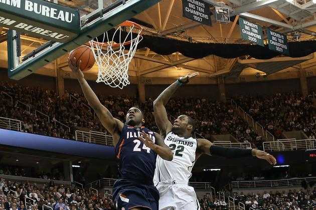 Illinois Basketball: Previewing Fighting Illini's 2015 Double-Play Matchups