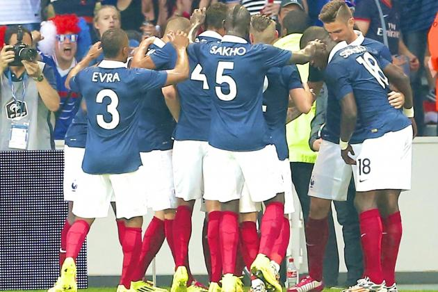 France vs. Jamaica: International Friendly Live Score, Highlights, Report