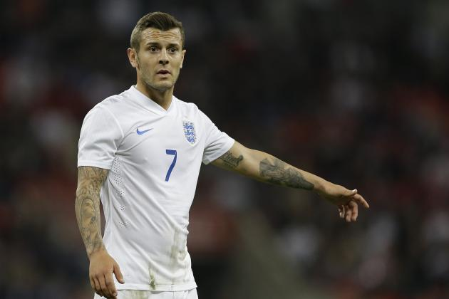 Arsenal's Jack Wilshere Is the Key Midfielder for England at the World Cup