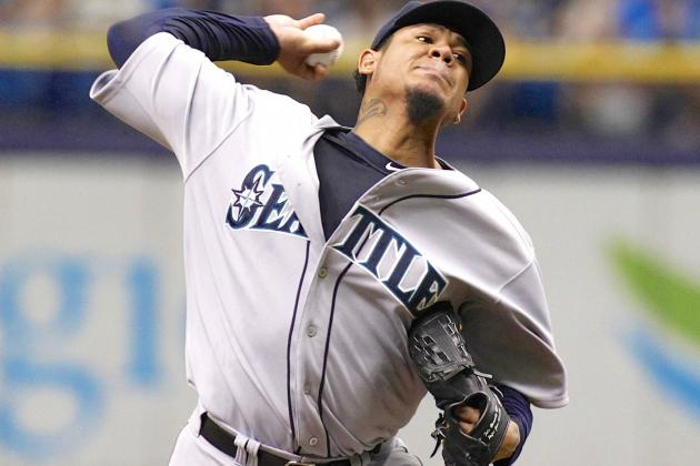 Felix Hernandez Strikes Out 15 in Win over Tampa Bay Rays