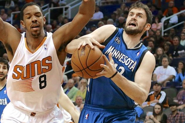 How Phoenix Suns Could Catapult to Front of Kevin Love Trade Sweepstakes