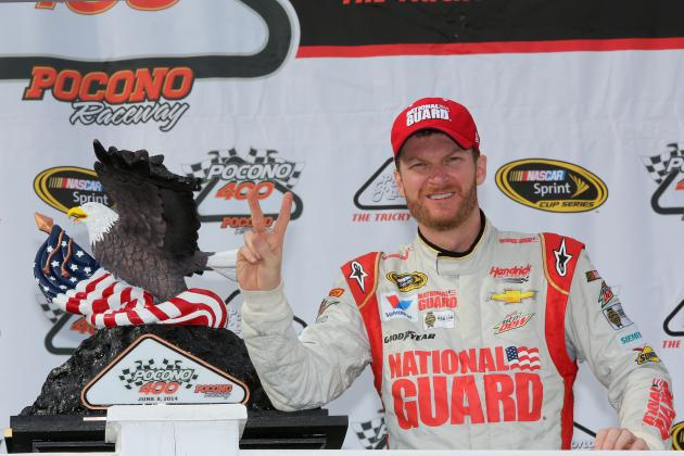 Dale Earnhardt Jr.'s Outlook for Rest of 2014 NASCAR Season After Pocono Win