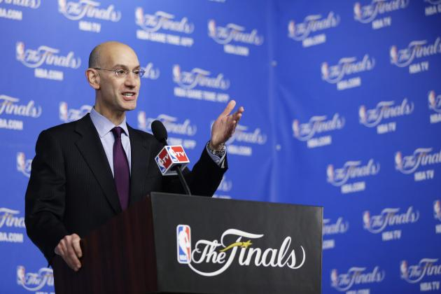 Adam Silver Mentions Potential Changes to NBA Age Limit and Salary-Cap Rules
