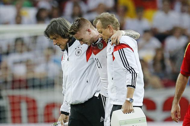 How Will Marco Reus' Absence Affect Germany at the World Cup?