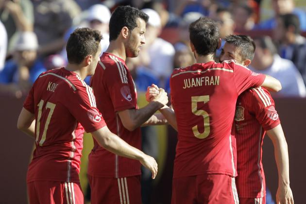 Spain World Cup 2014: Schedule, Roster and Starting XI Predictions