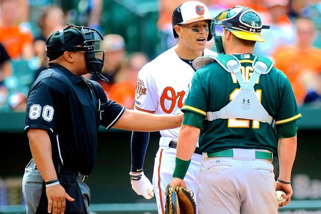 Manny Machado's Hothead Antics Go Too Far in Drama with A's