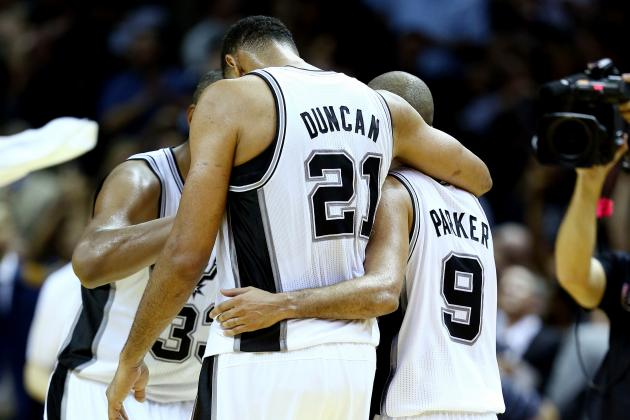 Tony Parker or Tim Duncan: Who's More Important to Spurs' Title Hopes?