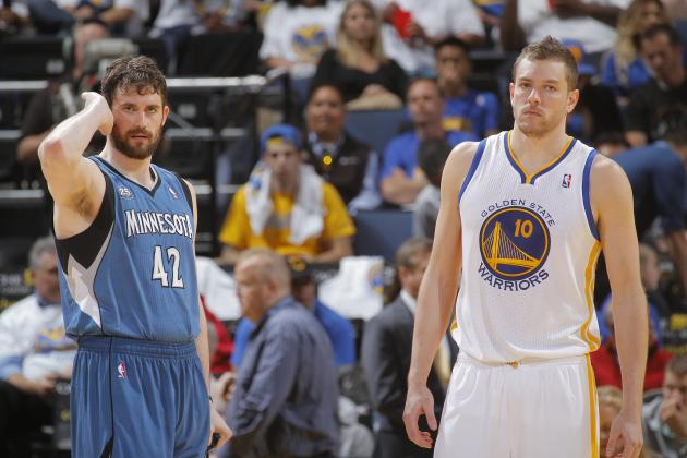 Would Giving Up Klay Thompson, Harrison Barnes Be Worth Getting Kevin Love?