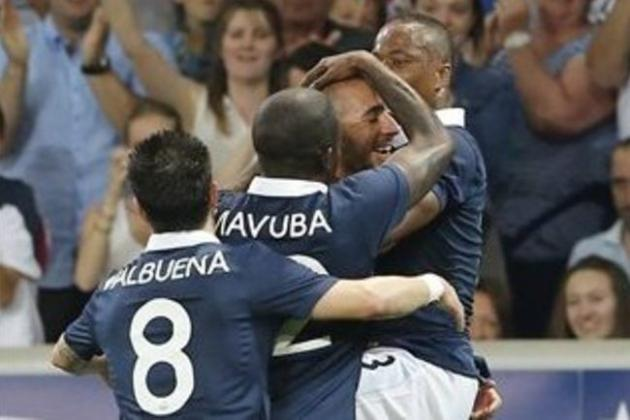 Karim Benzema and Mathieu Valbuena Show France There Is Life After Franck Ribery