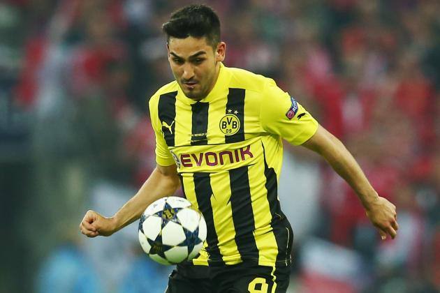 Ilkay Gundogan Has Put on Some Weight Since Injury for Borussia Dortmund