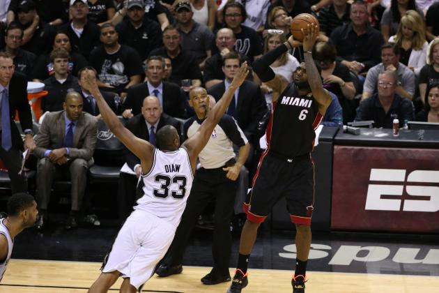 How Heat Used LeBron James and Chris Bosh to Bounce Back vs. Spurs