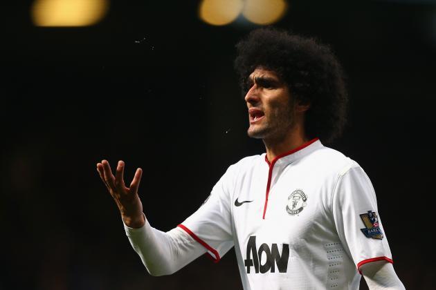 Manchester United Transfer News: Latest on Marouane Fellaini, Yevhen Konoplyanka