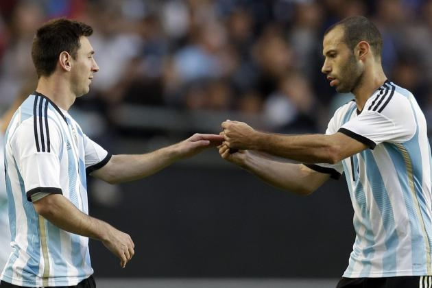 World Cup 2014 Odds: Argentina Big Favorite in Group F Betting