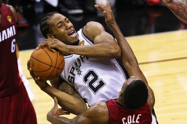 San Antonio Spurs Need Kawhi Leonard and Danny Green to Be Legit Threats