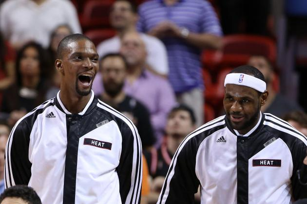 Chris Bosh Says He's NBA's 2nd-Biggest Target Behind LeBron James
