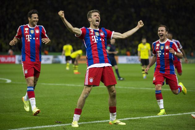Bayern Munich Schedule 2014-15: List of Fixtures and Early Analysis