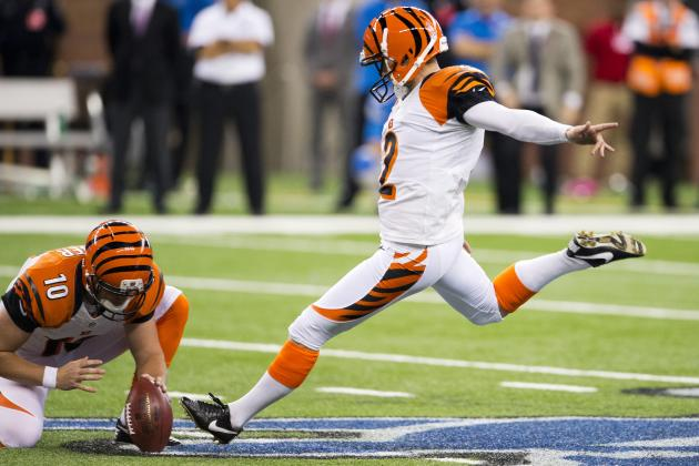 Bengals Factoid: Nugent from Beyond 40
