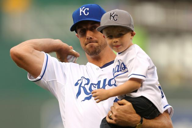 Alex Smith Threw out First Pitch at Royals Game This Weekend