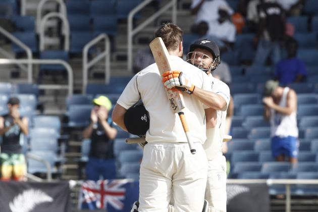 West Indies vs. New Zealand, 1st Test: Day 2 Video Highlights, Scorecard, Report