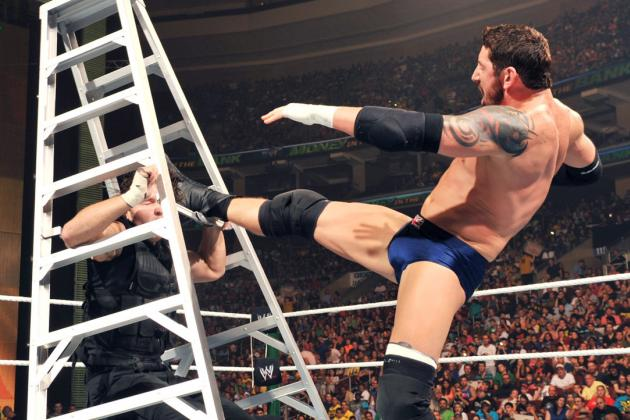 Breaking Down the Anatomy of a Money in the Bank Ladder Match