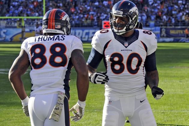 Broncos Open Contract Talks with Demaryius Thomas, Julius Thomas
