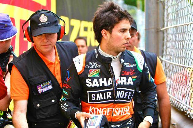 Felipe Massa and Sergio Perez Crash: Were Stewards Right to Punish Mexican?