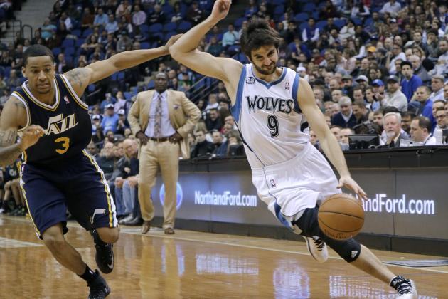 NBA Trade Rumors: Latest Buzz Surrounding Ricky Rubio, Arron Afflalo and More