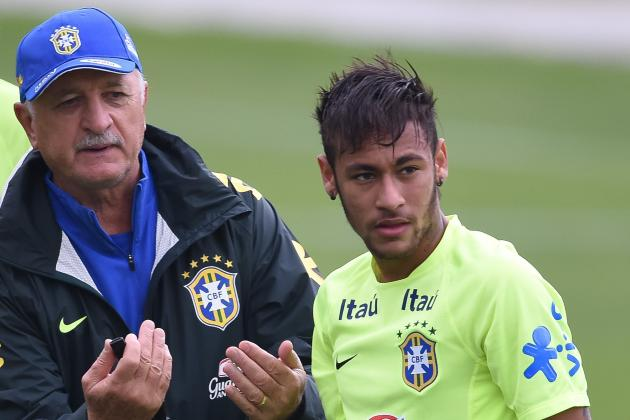 Brazil World Cup 2014: Schedule, Roster and Starting XI Predictions
