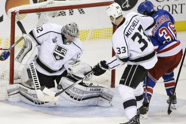 Kings vs. Rangers Game 3: Live Score, Highlights for Stanley Cup Final 2014