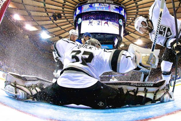 Stellar Jonathan Quick Stifles Rangers, Puts Kings on Verge of Stanley Cup Glory